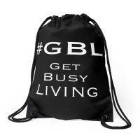 #GBL Get Busy Living hashtag bag